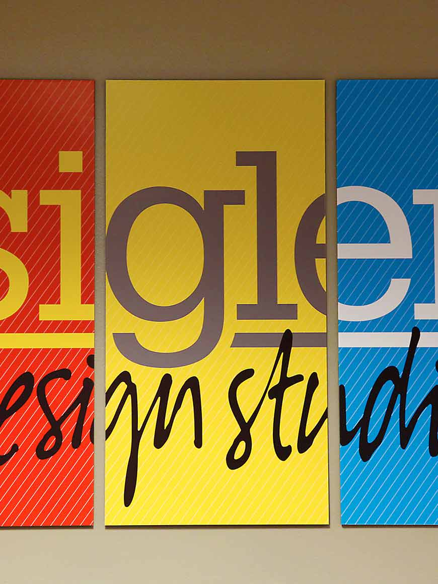 sigler marketing communications design print